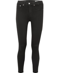 Rag & Bone Cropped High Rise Skinny Jeans