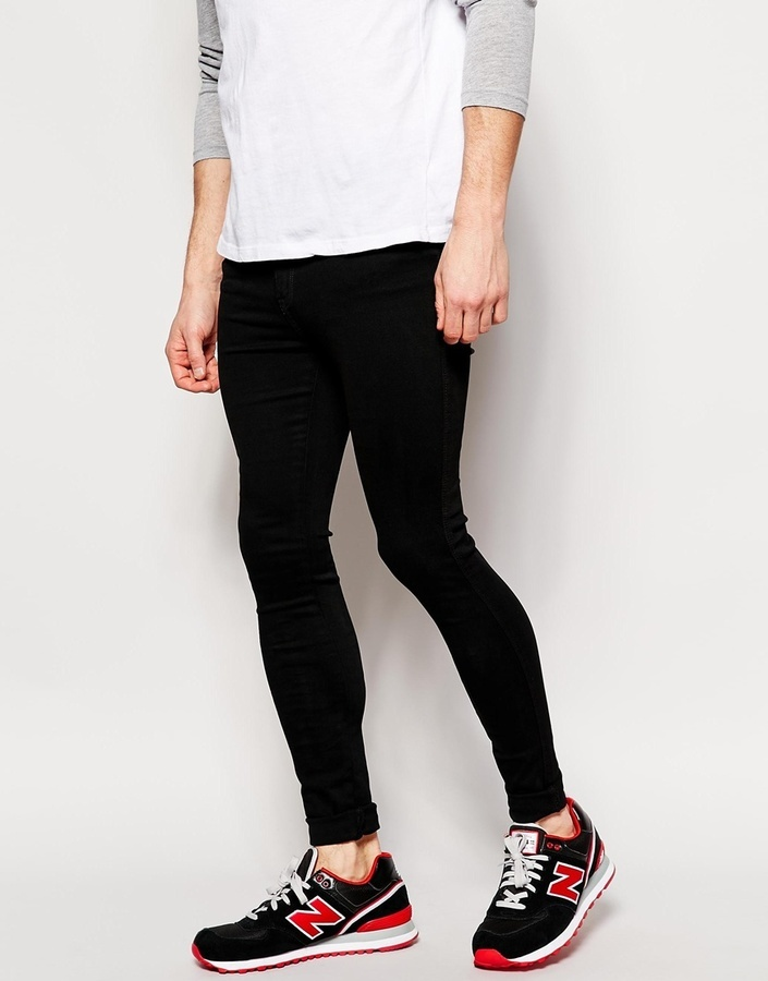 Dr. Denim Dr Denim Jeans Lexy High Spray On Extreme Super Skinny ...