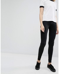 Dr. Denim Dr Denim Plenty High Waist Coated Skinny Jeans