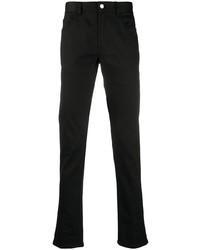 Moncler Embroidered Logo Slim Fit Jeans