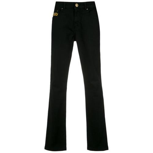 À La Garçonne Hanpainted Detail Jeans