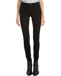 Acne Studios High Rise Skinny Jeans Black
