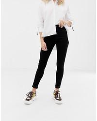 Only High Waist Skinny Jean In Black