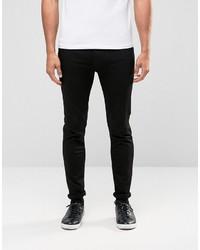 Hugo Boss Hugo By Super Skinny Jeans Black