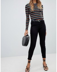 New Look India Jeans With Super Skinny Fit In Black