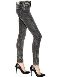 IRO Skinny Fit Washed Stretch Denim Jeans
