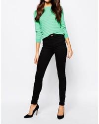 Oasis Jade Black High Waist Jade Jeans