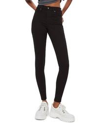Topshop Jamie Black Jeans