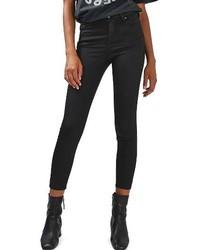Topshop Jamie Coated Skinny Jeans