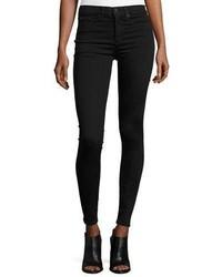 Rag & Bone Jean 10 Inch Skinny Jeans Black