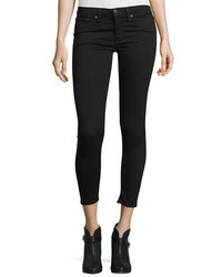 Rag & Bone Jean Nero Capri Denim Jeans Black
