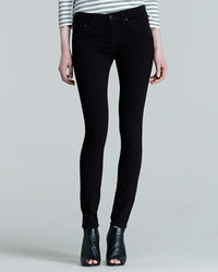 Rag & Bone Jean The Legging Jeans Black Plush
