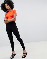 New Look Jegging With High Waist In Black