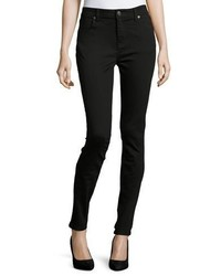 Burberry Low Rise Denim Skinny Jeans Black