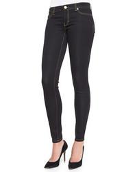 MICHAEL Michael Kors Michl Michl Kors Striped Long Overcoat Jet Set Legging Jeans