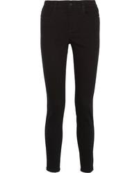 Stella McCartney Mid Rise Skinny Jeans Black