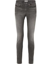 Balenciaga Mid Rise Skinny Jeans