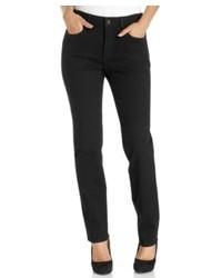 NYDJ Sheri Skinny Jeans Black Wash