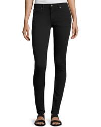 Cheap Monday Prime Low Rise Skinny Jeans Black