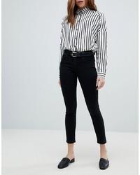 Only Push Up Skinny Jean In Black