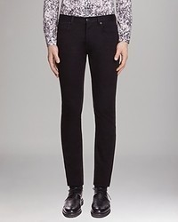 Sandro Jeans Slim Straight Fit In Black