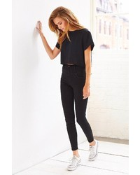 BDG Seamed High Rise Jean Black