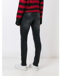 R13 Skate Skinny Jeans