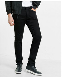 Express Skinny Black Stretch Jeans