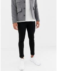 Jack & Jones Skinny Fit Jeans In Black