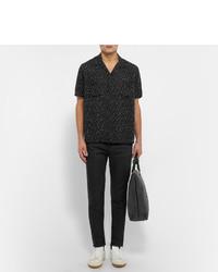 2eb65477c84 Saint Laurent Skinny Fit Raw Hem Denim Jeans, $590 | MR PORTER ...