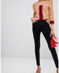 Vero Moda Skinny Jean In Black