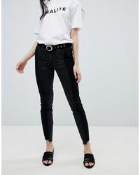 Vila Step Hem Jeans
