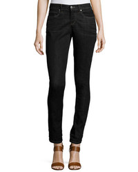 Eileen Fisher Stretch Skinny Jeans Vintage Black Plus Size