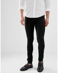ASOS DESIGN Super Skinny Jeans In Black