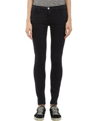 Current/Elliott The Ankle Legging Skinny Jeans Washed Black