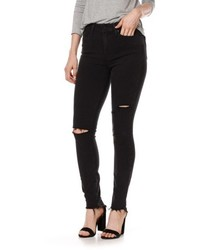 Paige Transcend Margot High Waist Ankle Skinny Jeans