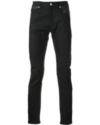 Versace Contrast Panel Skinny Jean