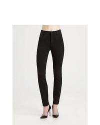 Vince Ponte Skinny Jeans Black