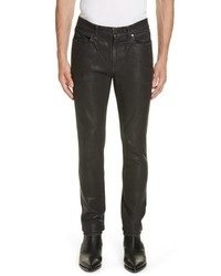 Saint Laurent Wax Skinny Jeans