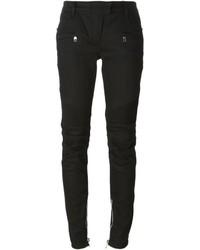 Balmain Biker Skinny Trousers