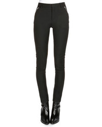 Saint Laurent Bias Seamed Skinny Fit Pants