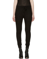 Haider Ackermann Black Montivipera Lounge Pants