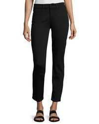 NYDJ Clarissa Twill Ankle Pants Black