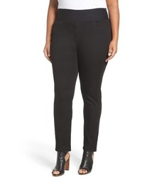 Foxcroft Plus Size Slimming Pull On Pants