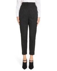Dolce & Gabbana Jacquard Cuff Skinny Pants