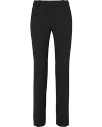 Roland Mouret Lacerta Stretch Crepe Slim Leg Pants