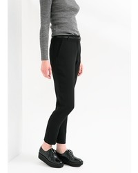 Mango Outlet Outlet Belted Crepe Trousers