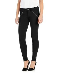 Paige Dover Ankle Zip Skinny Ponte Pants