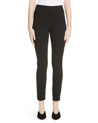 Rosetta Getty Pintucked Pull On Skinny Jersey Pants