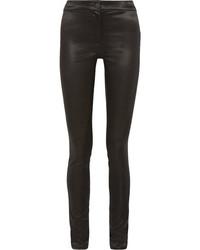 Ann Demeulemeester Satin Skinny Pants Black
